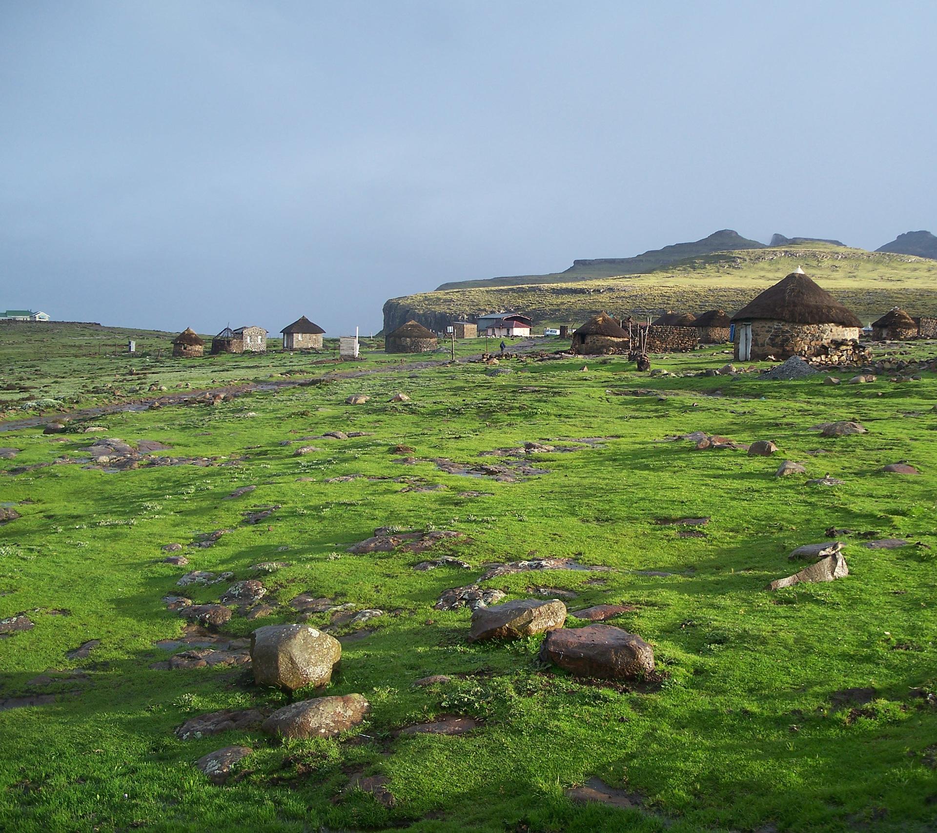 Rangelands in the Maloti–Drakensberg mountains. Photo by V. Ralph Clark