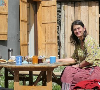 Traditional Georgian hospitality in a rural homestay. Photo by Andreas Muhar