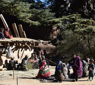 Focus group discussion with villagers of Tila Rural Municipality, Ripi, Jumla. Photo by Manoj Bhatta