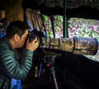 Bird photography tourism has become a major source of income for Hanlong village. Photo by Jitendra Bajracharya